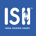 India Signing Hands (ISH) Logo