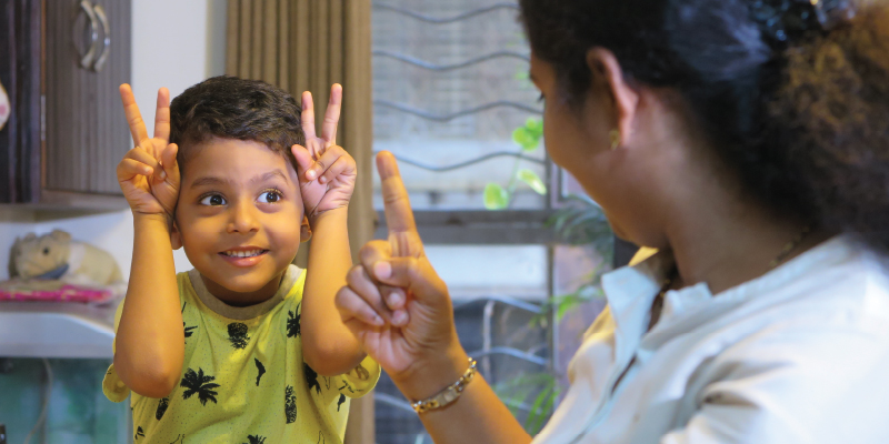 Parents and Deaf Child