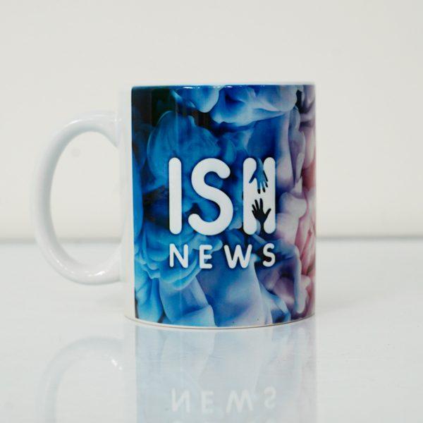 ISH Blue-Purple Mug