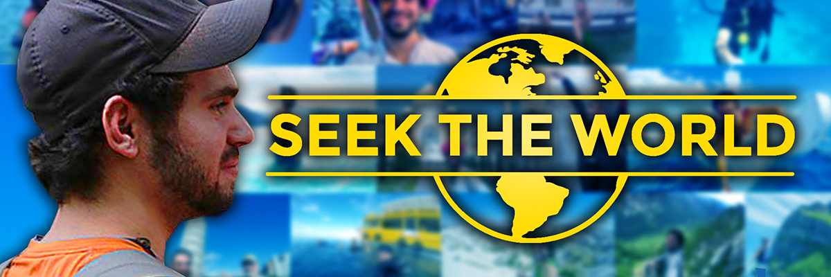 Seek The World Banner